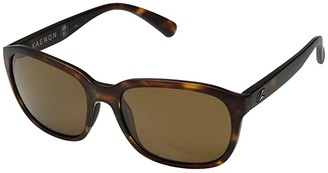 Kaenon Sonoma (Matte Tortoise Brown 12-Polarized) Athletic Performance Sport Sunglasses