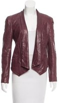 Rebecca Minkoff High-Low Leather Jacket