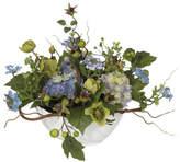Three Posts Hydrangea Centerpiece in Bowl