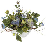 Three Posts Hydrangea Centerpiece