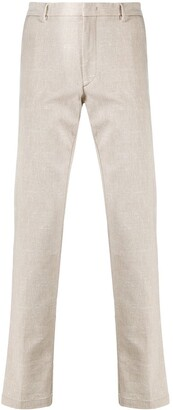 HUGO BOSS Slim-Fit Chambray Trousers