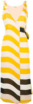 Fendi striped dress - women - Silk - 42
