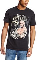 WWE Men's Randy Orton Strike First T-Shirt - Officially Licensed