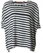 BOSS ORANGE Tabig Striped Short Sleeved Top