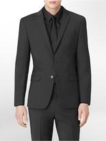 Calvin Klein X Fit Ultra Slim Fit Charcoal Suit Jacket