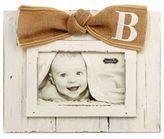 "Mud Pie Letter ""B"" 4-Inch x 6-Inch Bow Picture Frame"