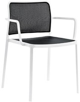 Kartell Audrey Chair (Set of 2 Color: White/White