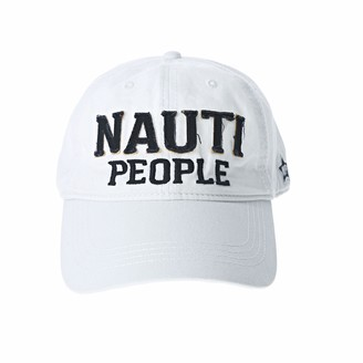 Pavilion Gift Company Nauti People-White Adjustable Snapback Baseball Hat