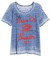 Junk Food Clothing NBA Oklahoma City Thunder Burnout Tee