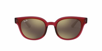 Ray-Ban RB4324F Asian Fit Square Sunglasses