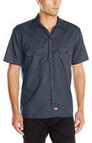 Dickies Men's Short Sleeve Flex Twill Work Shirt