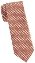 Salvatore Ferragamo Starfish-Print Silk Tie