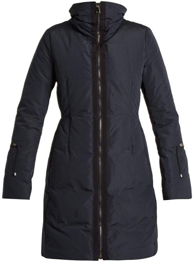 Moncler Alnus high-neck down-filled coat