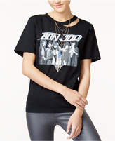 Freeze 24-7 Juniors' Bon Jovi Ripped Graphic T-Shirt