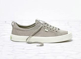 Cariuma OCA Low Cloud Grey Suede Sneaker Women