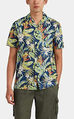 Onia MEN'S VACATION FLORAL COTTON CAMP SHIRT