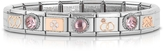 Nomination Classic Amore Rose Gold and Stainless Steel Bracelet w/Gemstone