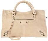 BALENCIAGA - 'City' leather shoulder bag