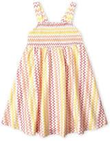 Missoni Girls 4-6x) Smocked Zigzag Dress