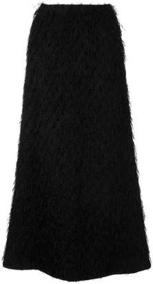 Undercover Shaggy Long Skirt
