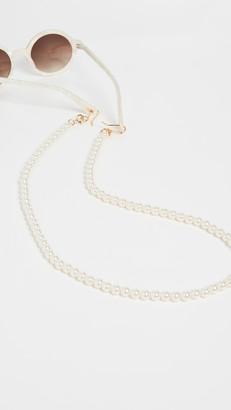Lele Sadoughi Beaded Cable Length Eyeglass Chain