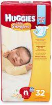 Huggies Little Snugglers 32-Count Newborn Jumbo Pack Diapers