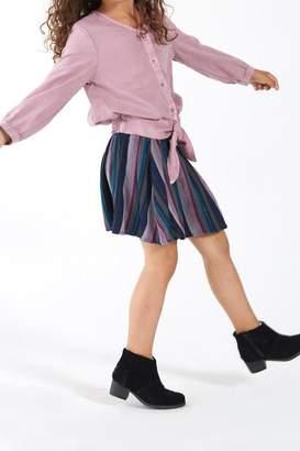 Bella Dahl Tie-Front Blouse