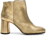 Rachel Comey Distressed Leather Lin Boots in Metallics.