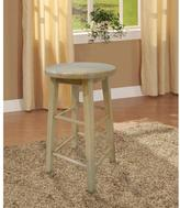 Linon Home Décor 24 in. Round Wood Bar Stool