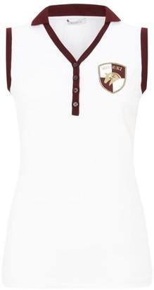 Miasuki Sleeveless Crest Polo Shirt