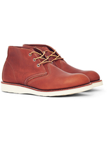 Red Wing Shoes Work Chukka Leather Tan