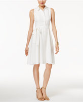 Tommy Hilfiger Belted A-Line Shirtdress