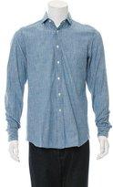 Salvatore Piccolo Striped Button-Up Shirt