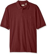 Haggar Men's Big-Tall Short Sleeve Minibox Polo