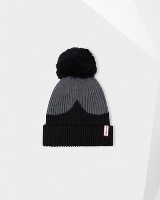 Hunter Moustache Bobble Hat