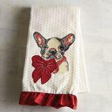 Pier 1 Imports Christmas French Bulldog Tea Towel