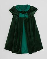 Florence Eiseman Velvet Bow Dress