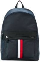 Tommy Hilfiger logo stripe backpack