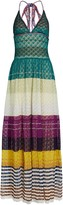 Missoni Crochet Halter Maxi Dress