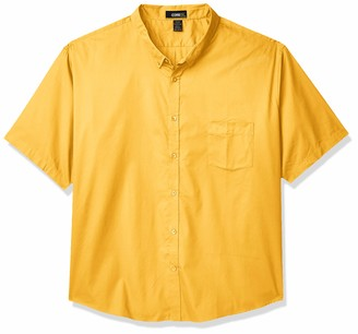 Ashe City Men's Optimum Twill Short Sleeve Button Up Shirts