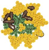 Seletti Mimosa Florigraphie Straw Trivet