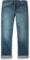orSlow 107 Slim-fit Washed Selvedge Denim Jeans - Indigo