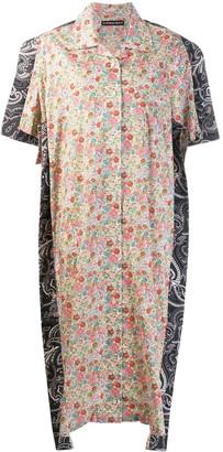 Y/Project Patchwork Shirt Dress