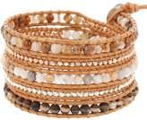 Chan Luu Chan Brown Sardonyx Mix Wrap Bracelet BS-5361