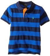 Polo Ralph Lauren Yarn-Dyed Mesh Striped Polo (Toddler)