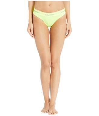 Calvin Klein Underwear Modern Cotton Dyed Thong Panty