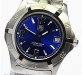 Tag Heuer Diving Watch WN1112 Stainless Steel 38mm Mens Watch