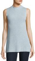 Eileen Fisher Sleek Sleeveless Mock-Neck Tunic