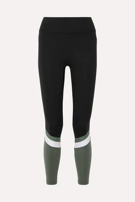 All Access - Tour Color-block Stretch Leggings - Black