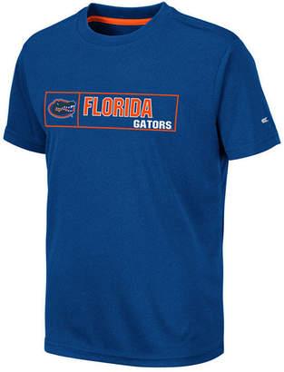 Colosseum Big Boys Florida Gators Boxed Logo Polyester T-Shirt